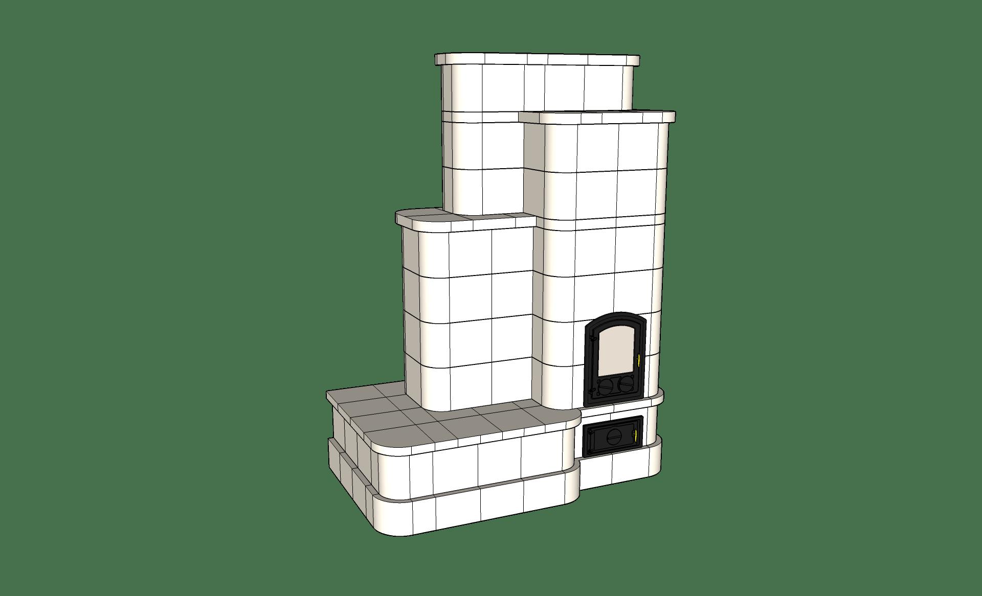 Padkás-cserépkályha