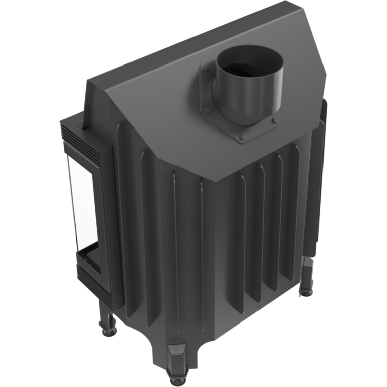 11 kW teljesítményű A-Energiaosztályos-KRATKI BLANKA 670/570 PBS JOBB OLDALAS EGYBENYÍLÓ KANDALLÓBETÉT