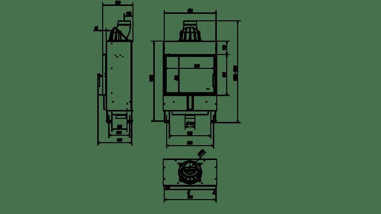 8 kW teljesítményű A+-Energiaosztályos-KRATKI LEMEZKANDALLÓ LUCY 12 SLIM