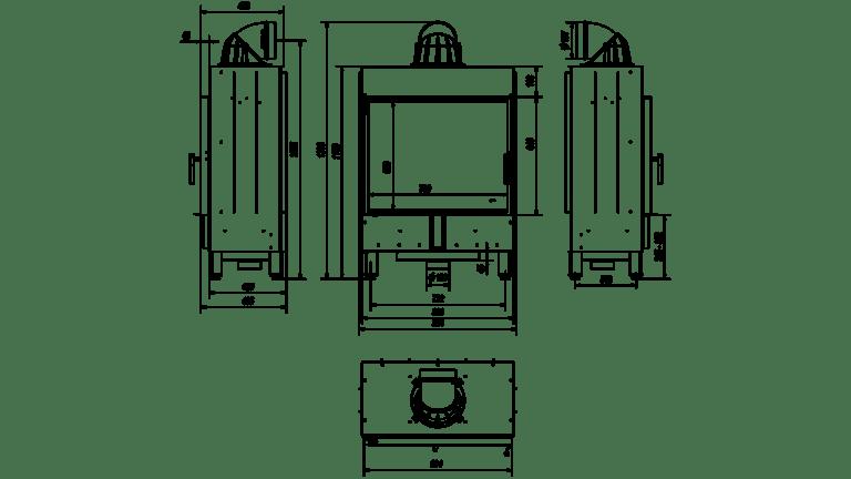 15 kW teljesítményű A-Energiaosztályos-KRATKI LEMEZKANDALLÓ LUCY 15
