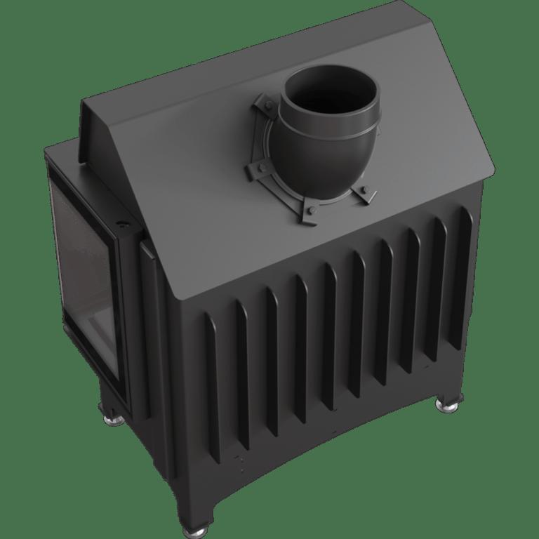 11 kW teljesítményű A-Energiaosztályos-KRATKI ZIBI PBS DECO JOBB OLDALAS EGYBENYÍLÓ KANDALLÓBETÉT