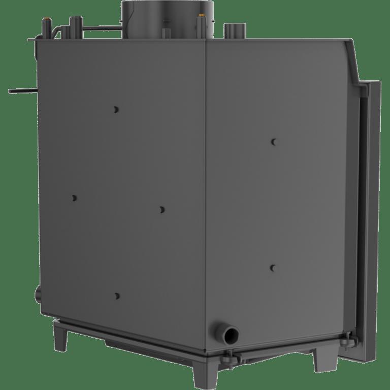 13 kW teljesítményű A-Energiaosztályos-KRATKI FELIX 14 DECO VÍZTERES KANDALLÓBETÉT