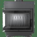 8 kW teljesítményű A-Energiaosztályos-KRATKI MAJA 8 BAL OLDALÜVEGES KANDALLÓBETÉT DECO ÜVEGGEL