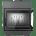 8 kW teljesítményű A-Energiaosztályos-KRATKI MAJA 8 DECO JOBB OLDALÜVEGES KANDALLÓBETÉT