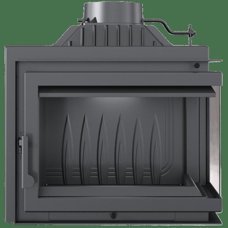 8 kW teljesítményű A-Energiaosztályos-SIMPLE  8 JOBB OLDALÜVEGES EGYBENYÍLÓ KANDALLÓBETÉT