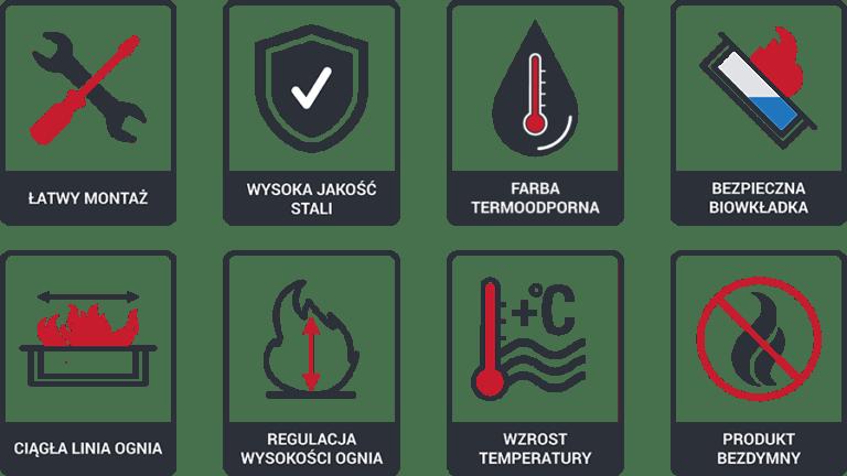 EGZUL BIOKANDALLÓ FEHÉR POLÍROZOTT SWAROVSKI KRISTÁLYOKKAL EGZUL/SV/POLYSK/TUV Szabadon álló biokandalló MDF